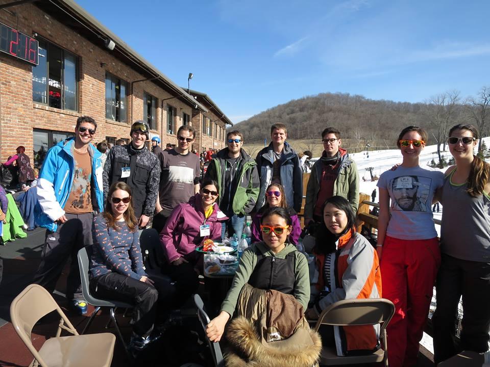 OSU CogNeuro Ski Trip, 2015
